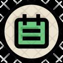 Ui Ux Calendar Icon