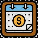Calendar Business Money Icon