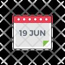 Date Month Calendar Icon
