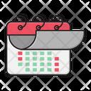 Calendar Deadline Fast Icon