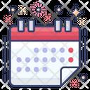 Calendar Schedule Timetable Icon