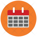 Month Calender Date Icon