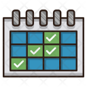 Events Calendar Schedule Icon