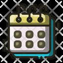 Calendar Agenda Schedule Icon