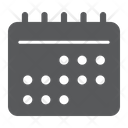 Calendar Ui Sign Icon