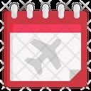 Calendar Travel Plan Icon