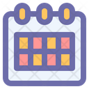 Calendar Date Time Icon