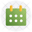 Thanksgiving Day Calendar Icon