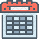 Calendar Appointment Day Icon