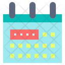 Holiday Calendar Paper Icon