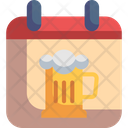 Calendar Time And Date Oktoberfest Icon
