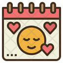 Calendar Love Yourself Icon