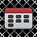Calendar School Education Icon