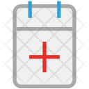 Calendar Medical Schedule Icon