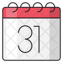 Calendar Date Timetable Icon