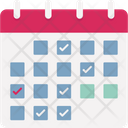 Calendar Event Schedule Icon