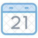 Calendar Wall Date Icon