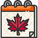 Calendar Autumn Season Icon