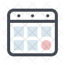 Calendar Appointment Treatment Icon