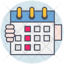 Business Calendar Timetable Icon