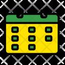 Business Calendar Date Icon