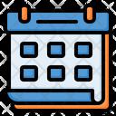Calendar Schedule Deadline Icon