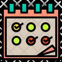 Calendar Check Icon