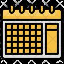 Calendar Month Date Icon