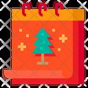 Calendar Xmas Christmas Icon
