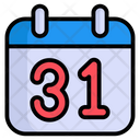Calendar Scary Date Icon