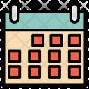 Calendar Productivity Time Icon