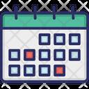 Calendar Party Schedule Icon