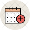Calendar Add Sign Icon