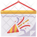 Calendar Party Birthday Icon