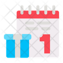 Calendar New Year Celebration Icon