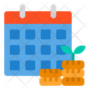 Calendar Passive Date And Time Icon