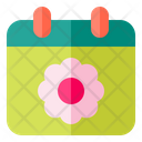 Weather Schedule Spring Icon