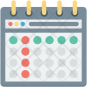 Calendar Daybook Schedule Icon