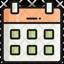Calendar Date Schedule Icon