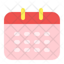Calendar User Interface Icon