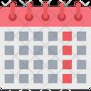 Calendar Wall Calendar Schedule Icon