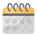 Calendar Date Daybook Icon