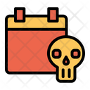 Skull Halloween Festival Icon