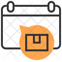 Calendar Packing Service Icon