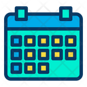 Planner Date Day Icon