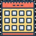 Calendar Month Schedule Icon