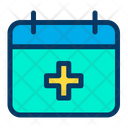 Schedule Time And Date Planner Icon