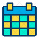Planner Schedule Time And Date Icon