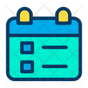 Schedule Date Day Icon
