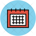 Calendar Daybook Wall Icon